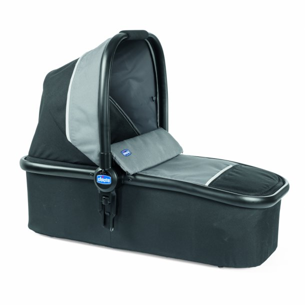 Kwik.one carrycot, Jet Black, Chicco
