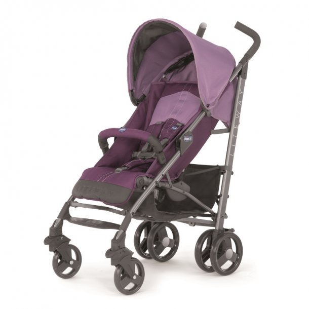 Lite Way New Basic with Bumper Bar, Chicco, PURPLE